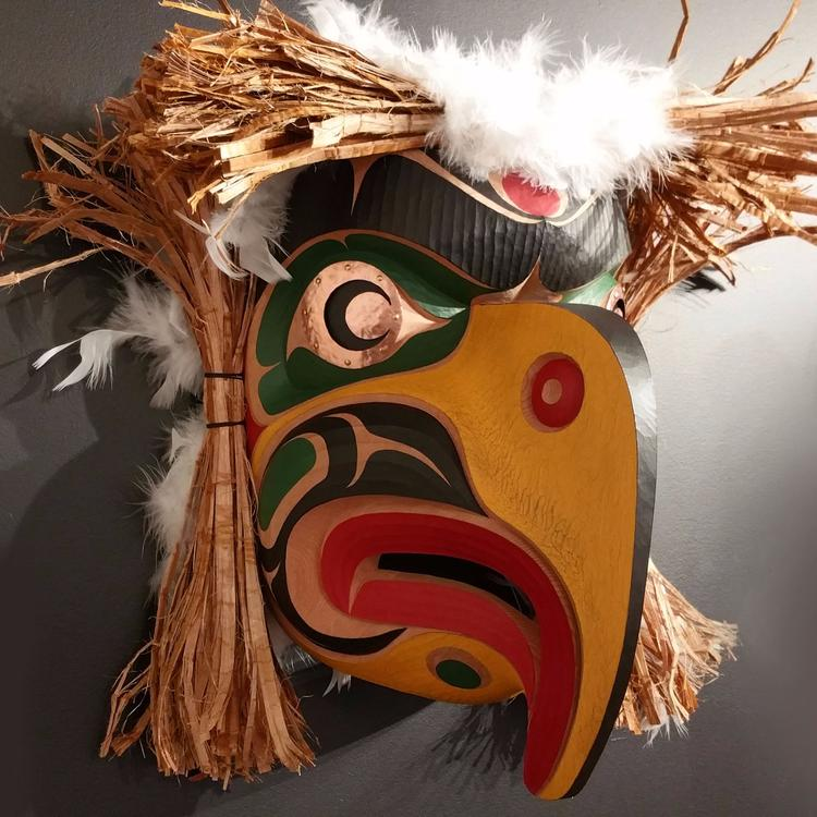 The Eagle Symbol Native Art