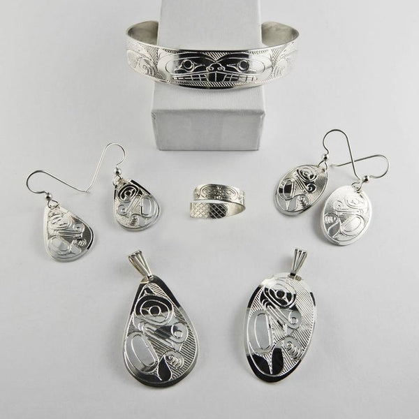 Beaver Spirit Silver Jewelry Collection