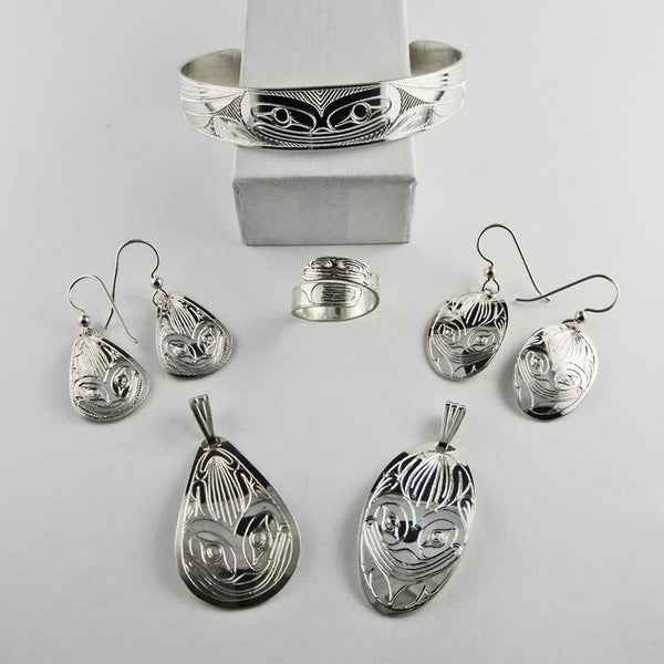 Frog Spirit Silver Jewelry Collection