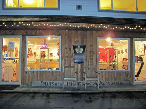 Northwest Coast Native Art Gallery - Spirits of the West Coast