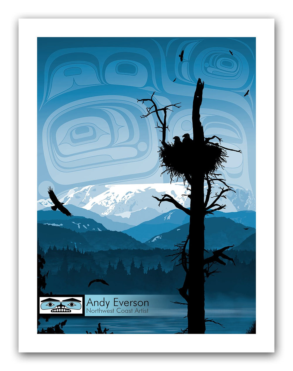 Nest Limited Edition Print by Andy Everson
