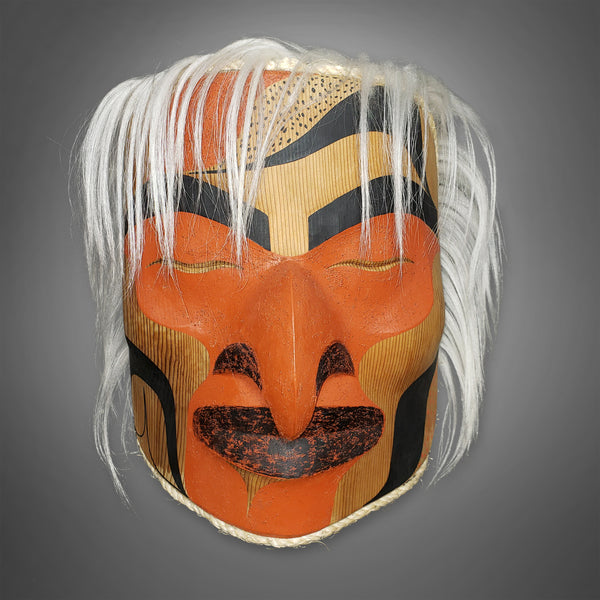 Shaman Hawk Mask by Douglas David