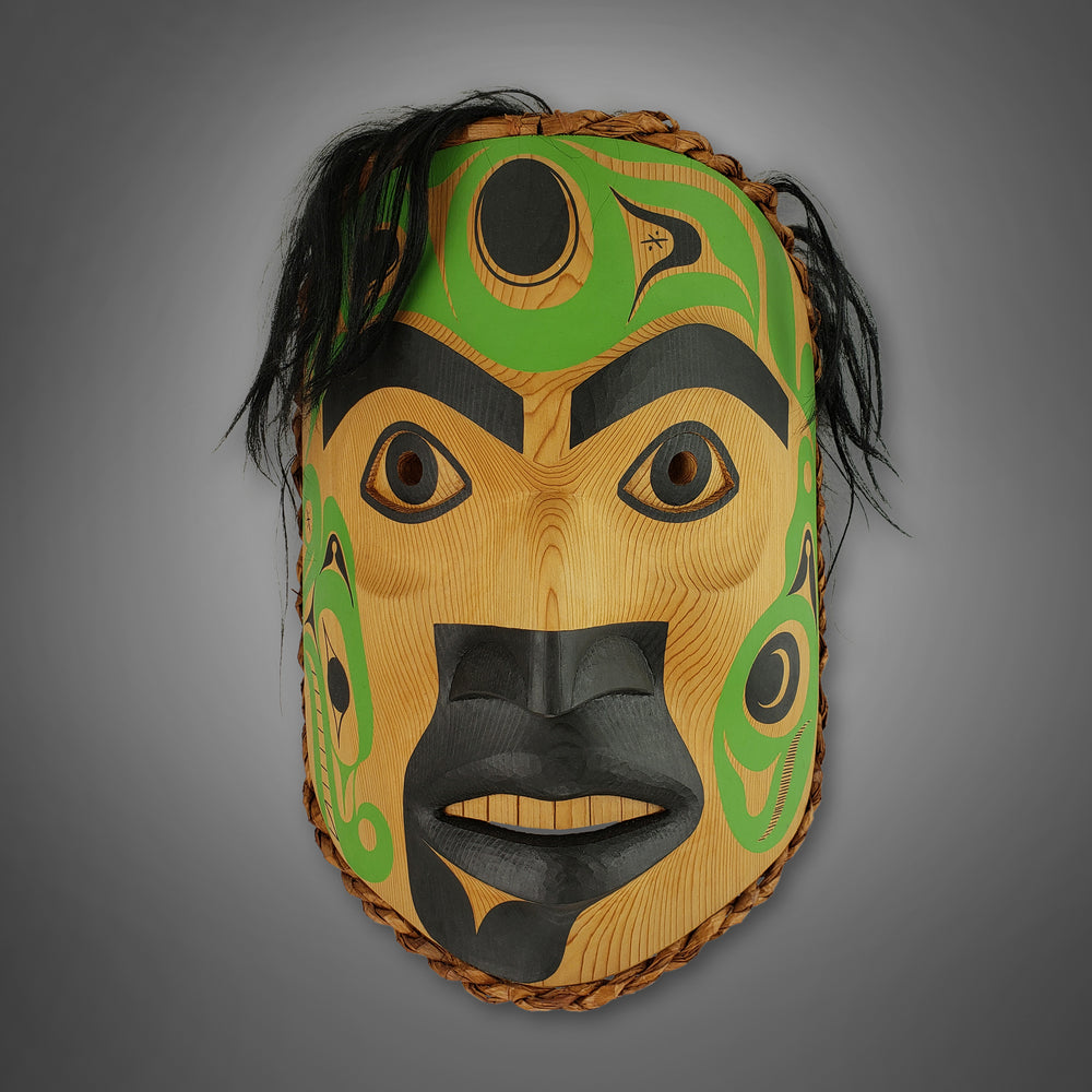 Whaling Medicine Mask by Douglas David