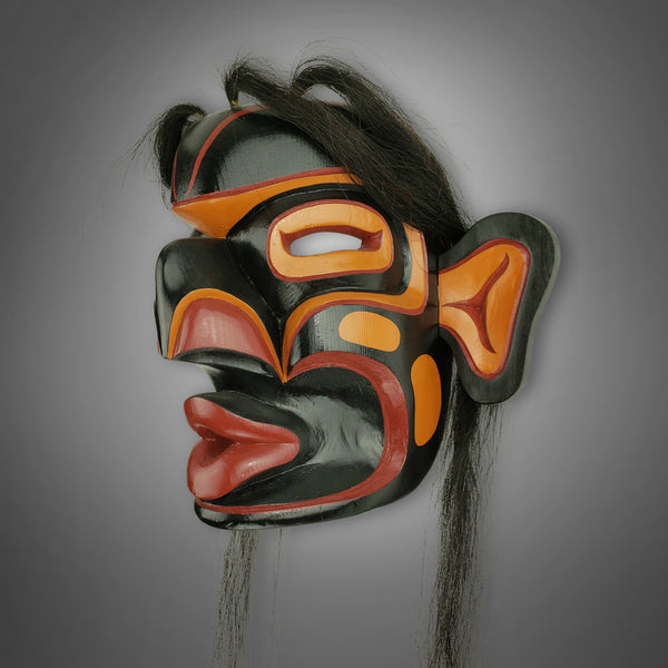 Wild Woman Mask by Ernie Henderson