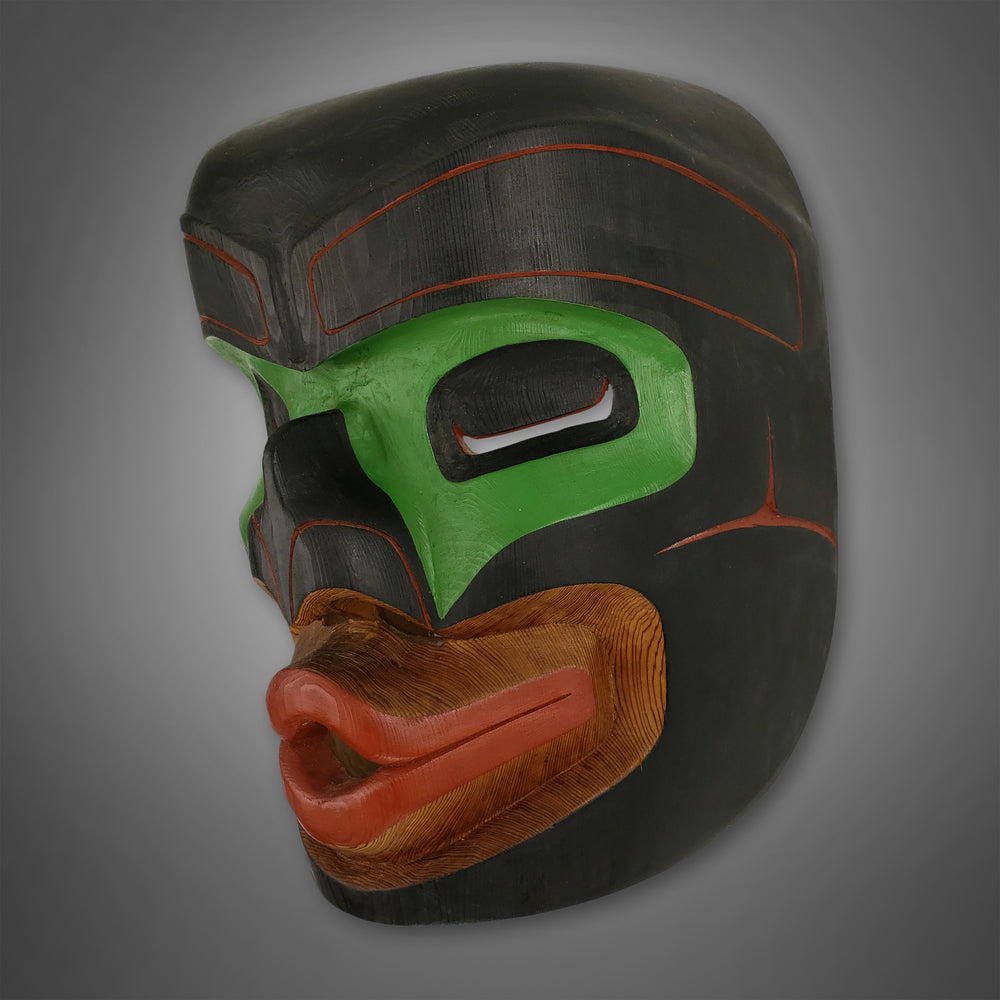 Tsonoqua Mask by Ned Matilpi