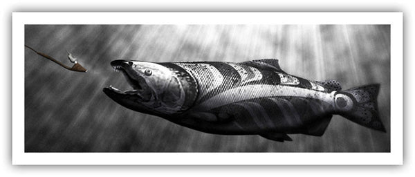 The Salmon Symbol Native Art