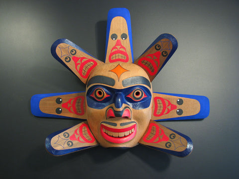 Salish Star Mask