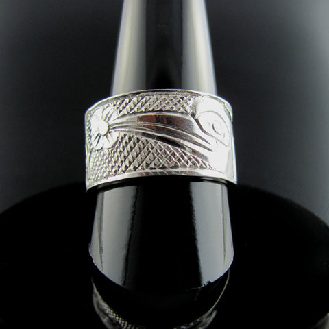 Haida Hummingbird Ring