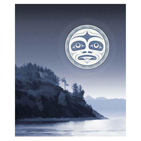 Andy Everson, Under a Salish Moon