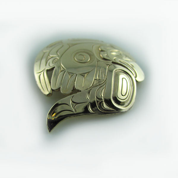 Gold West Coast Eagle Pendant