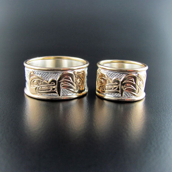 Native Wedding Bands or Engagement Rings by Carmen Goertzen