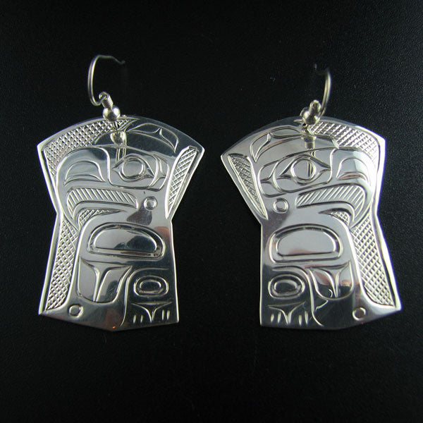 Eagle Copper Shaped Earrings