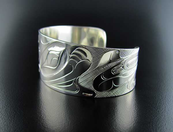Haida Wasco and Killer Whale Bracelet