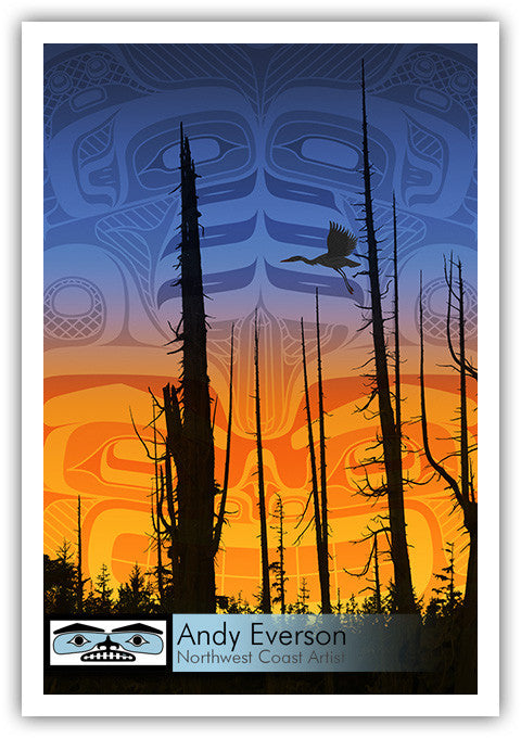Nimpkish Sunset Limited Edition Print
