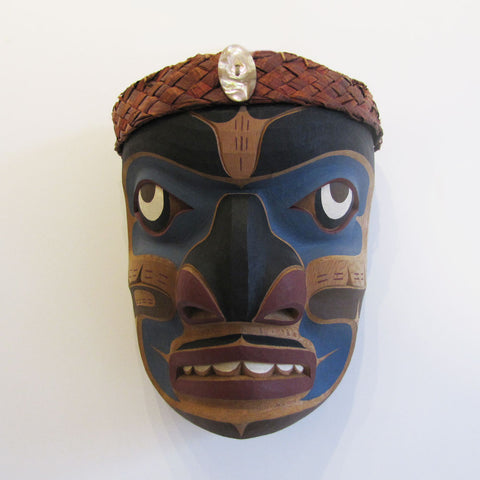 Cedar Bark Man Mask