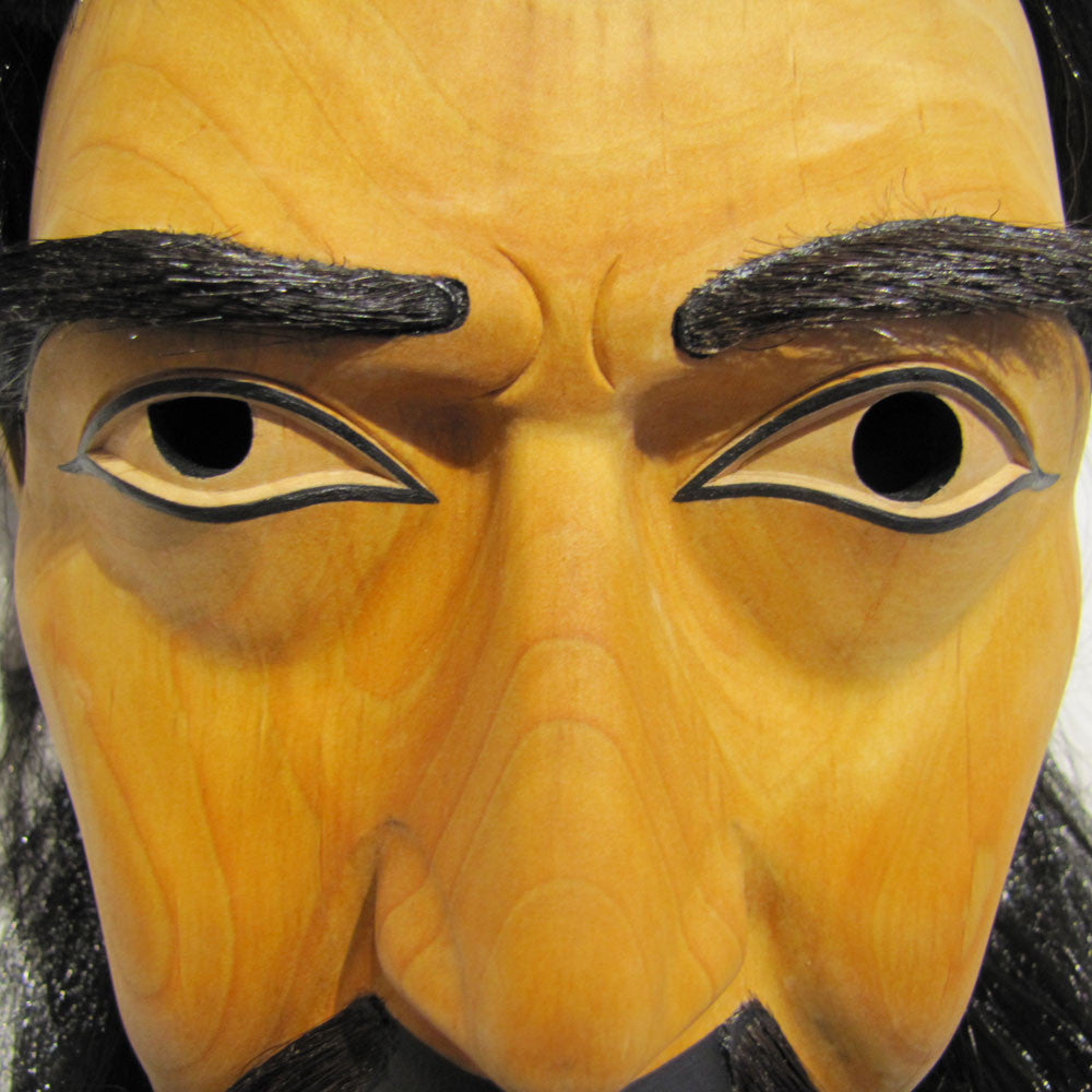 Portrait Mask of a Kwagiul Warrior