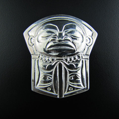 Chief Copper Pendant in Silver
