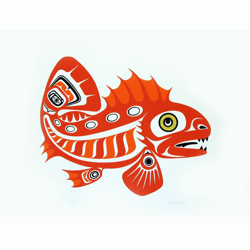 Red Cod Limited Edition print
