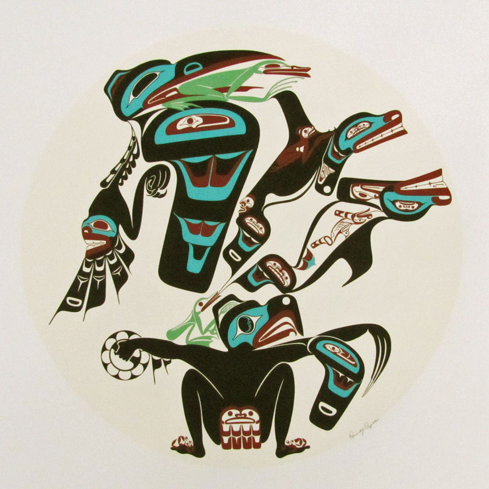 Haida Drum Design Limited Edition Print