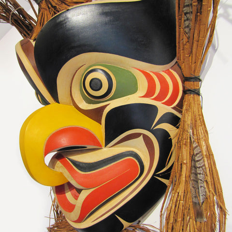 Large Native Grouse Mask