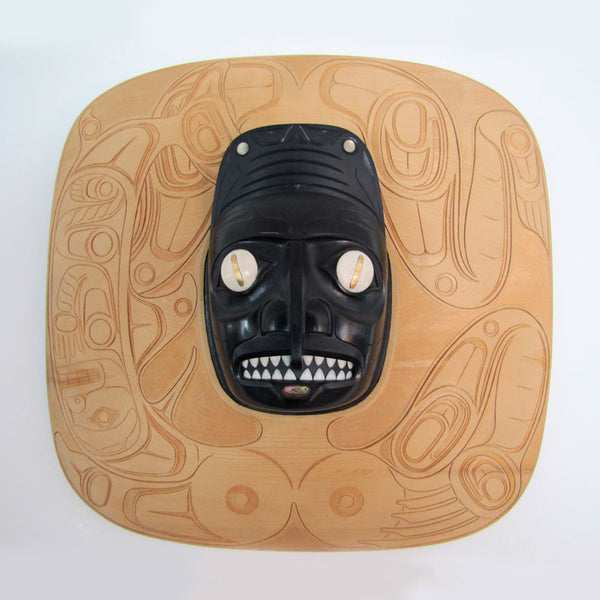 Haida Dogfish Woman Transformation Carving