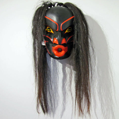 Tsonokwa or Wild Woman Mask