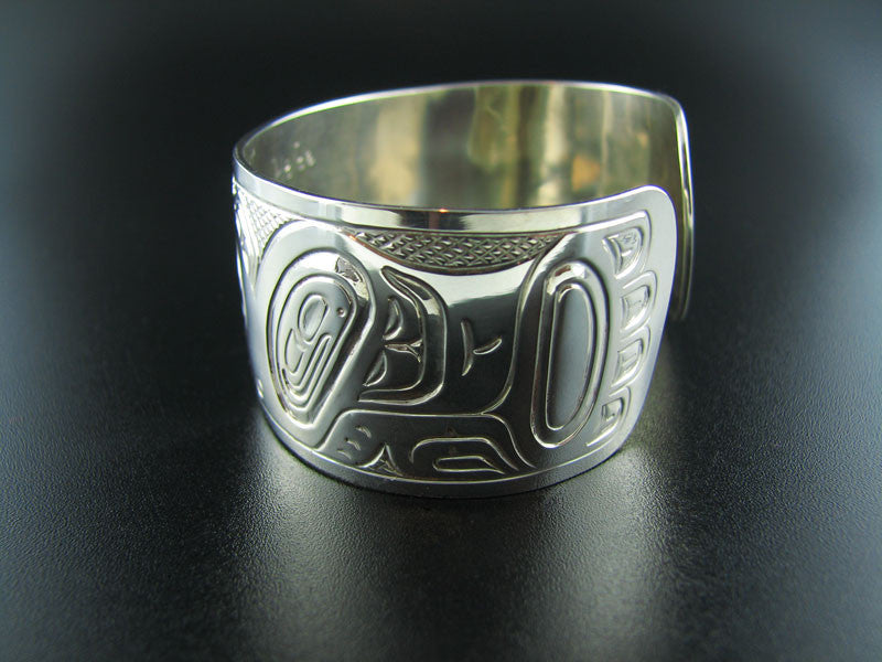 Haida Eagle Split Design Bracelet