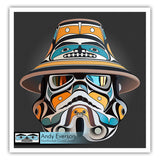 Northern Warrior Limited Edition Print by Andy Everson
