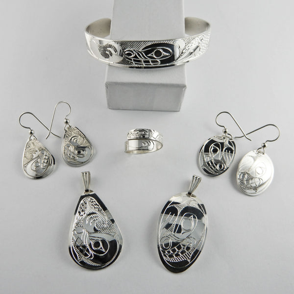 Bear Spirit Silver Collection