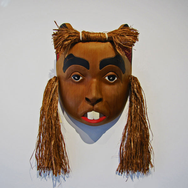 Beaver Transformation Mask By Stan Greene Native Art
