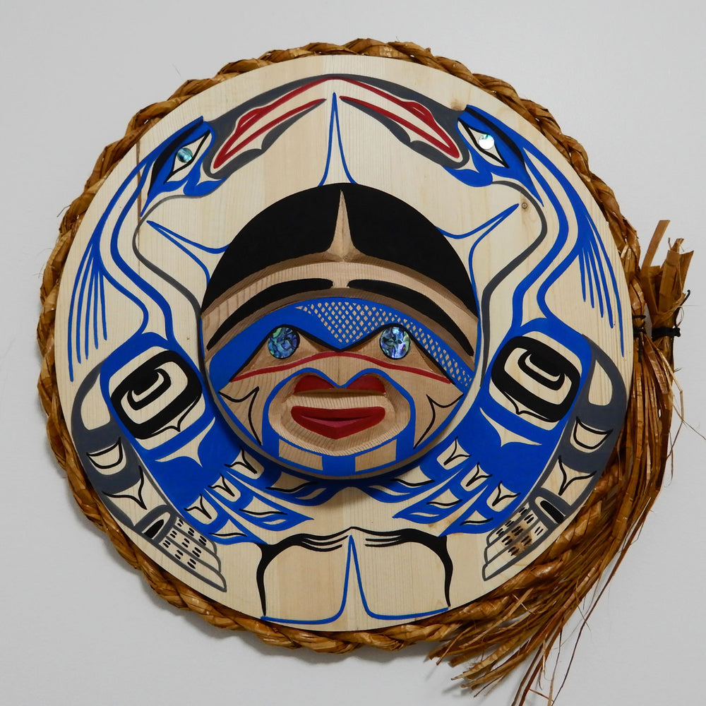 Great Blue Heron Moon Mask