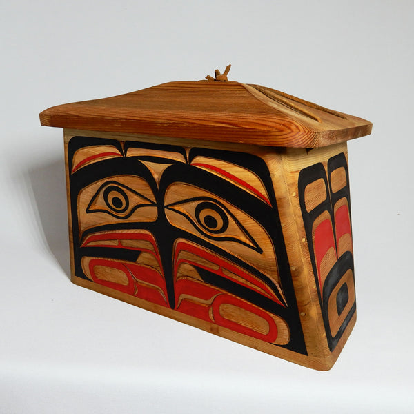 Bird Bentwood Canoe Box