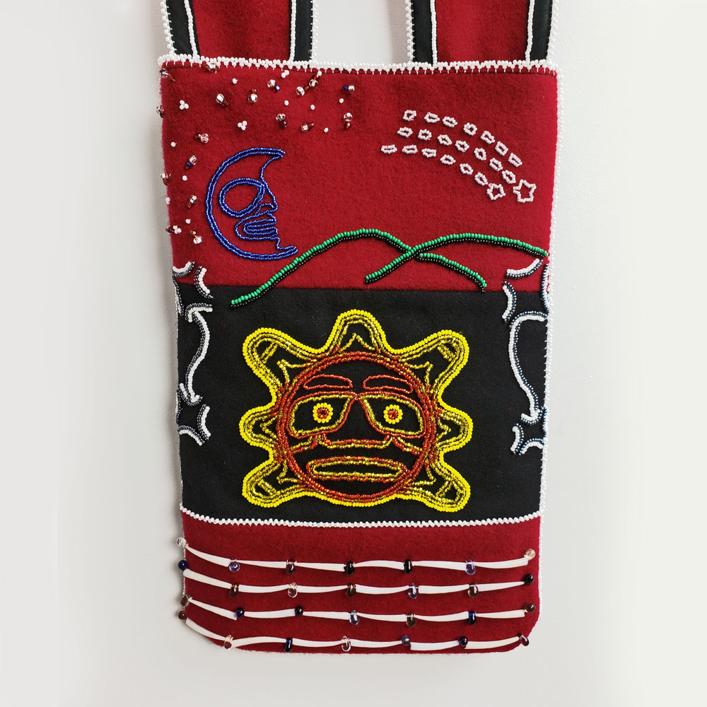 Northwest Coast Ceremonial Bag by Marie Hunt