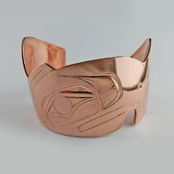 1 1/2 Inch Eagle Copper Bracelet