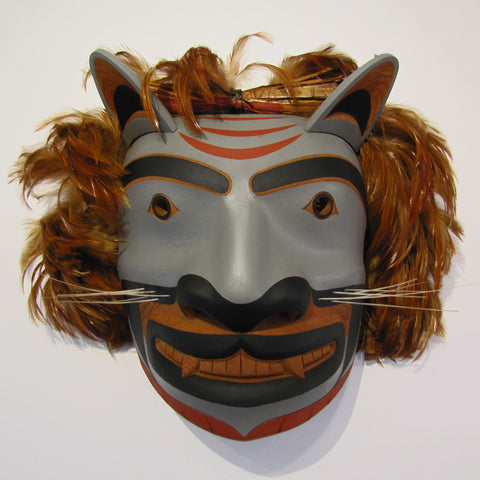 Cougar / Mountain Lion Mask by Calvin Hunt