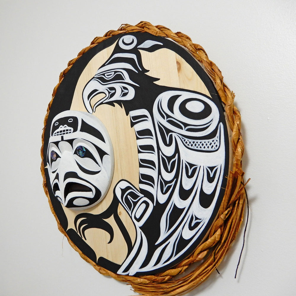 Thunderbird and Eagle Moon Mask