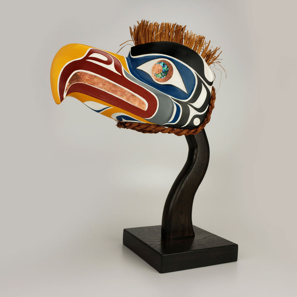 Eagle Headdress by Karver Everson