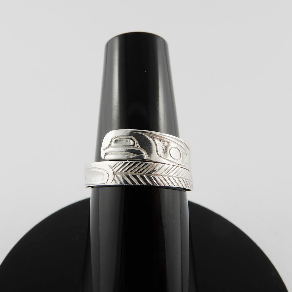 Haida Eagle Wrap Ring