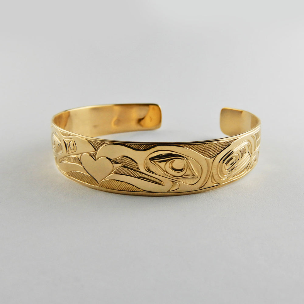 Gold Love Bird Bracelet
