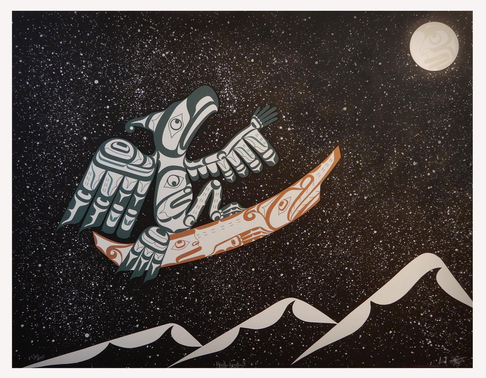'Hadidadul ~ Reaching for the Stars' Print