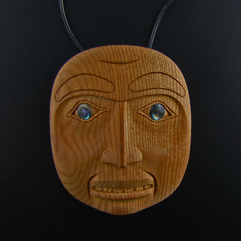 Portrait Mask Pendant By Ron Russ