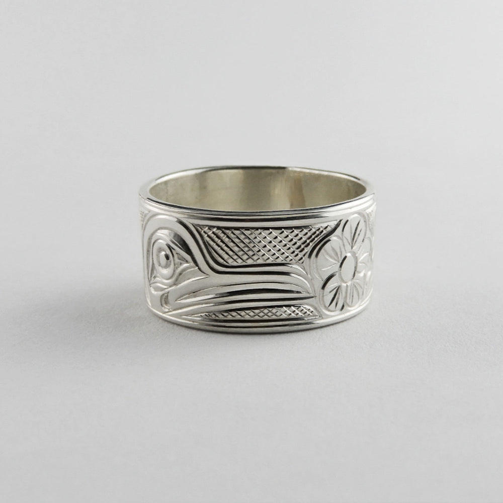 Hummingbird Silver Band