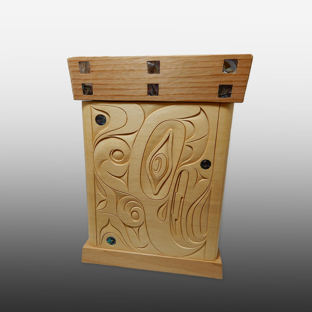 Thunderbird and Lightning Snake Bentwood Box