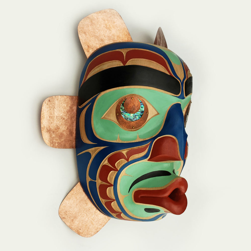 Kumugwe or Chief of the Undersea People Mask by Karver Everson