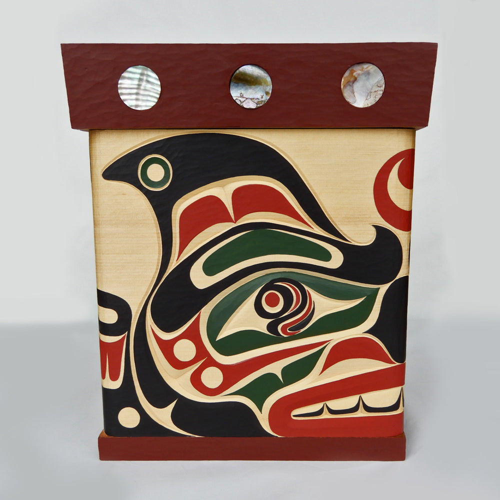 Orca or Killer Whale Bentwood Box
