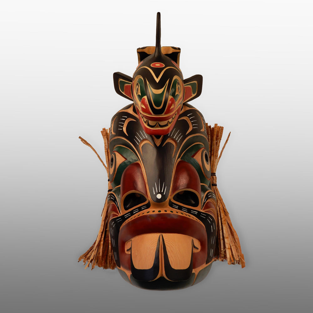 Pugwis or Merman with Killer Whale Mask