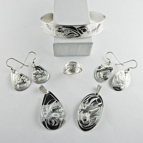 Raven Spirit Silver Collection