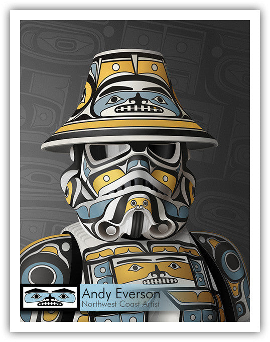 Resistance Limited Edition Print by Andy Everson