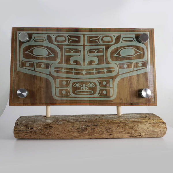 Chilkat Apron Glass Panel