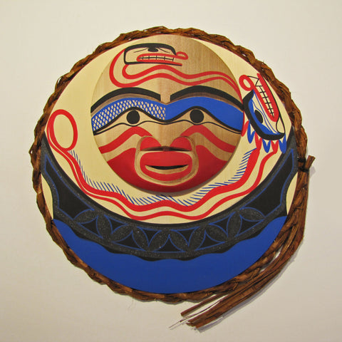 Sea Serpent Moon mask